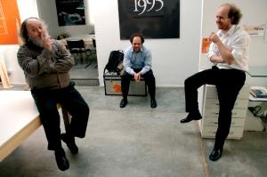Ronald, Juan and Lorenzo Shakespear