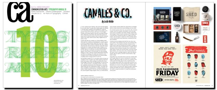 CA Canales cover and spread